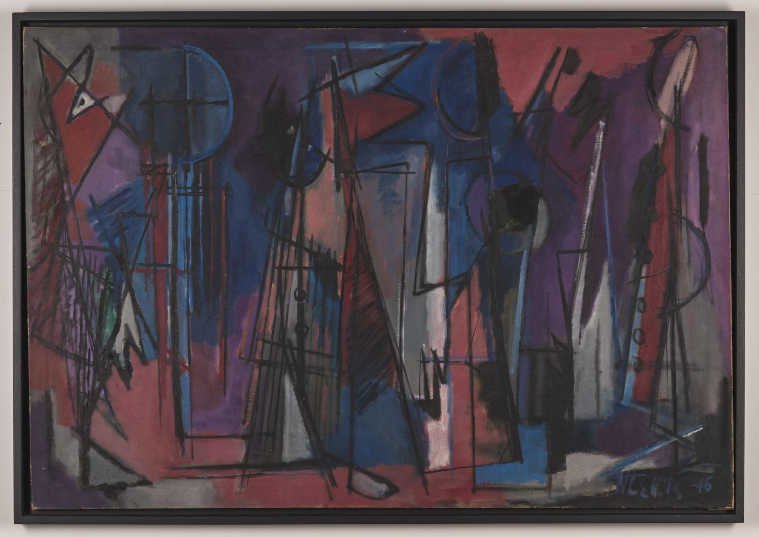 Norman Lewis - Untitled (Composition)