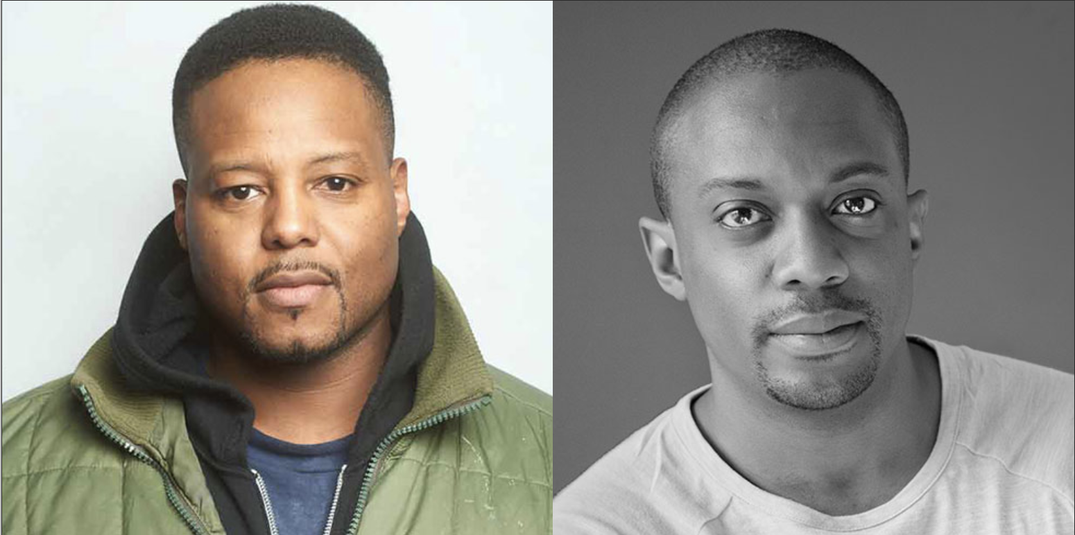 Headshots of Titus Kaphar & Hank Willis Thomas, 2020 Lea K. Green honorees