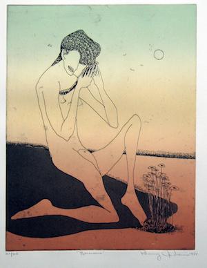 Benny Andrews - Narcissus