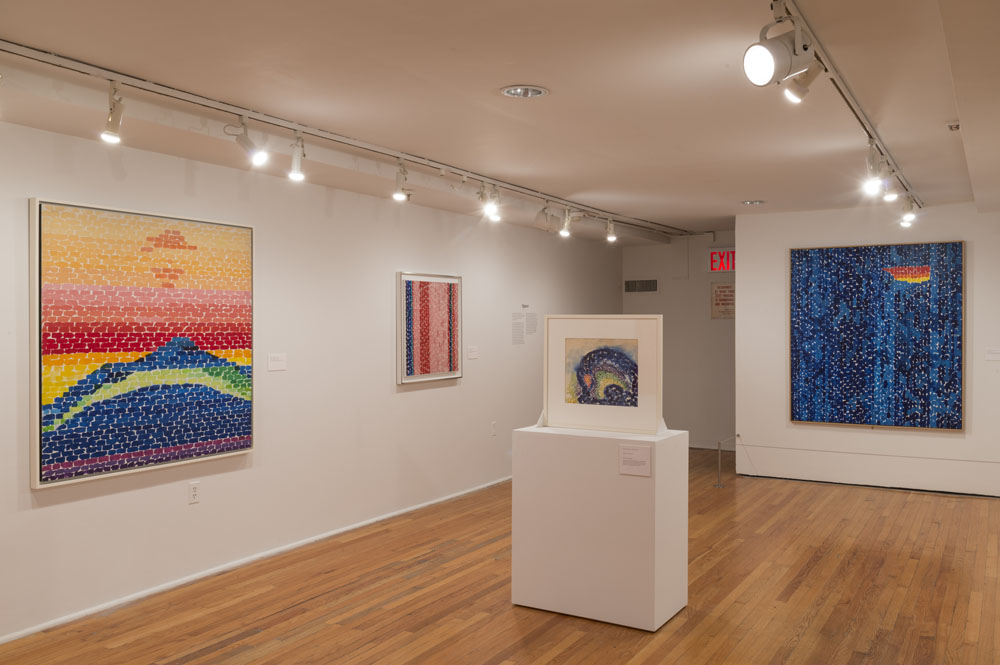 installation of Alma Thomas works at the Studio Museum in Harlem
