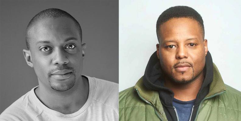 Headshots of Titus Kaphar & Hank Willis Thomas, 2020 Lea K. Green honorees